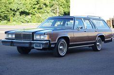 1987 Mercury Grand Marquis Colony Park wagon. 5.0L. 52,000 original miles. Black