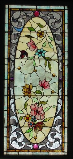 Antique American Stained Glass Windows                              …