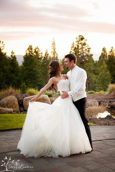 Must have Wedding pictures.  Sunset pics with the bride and groom