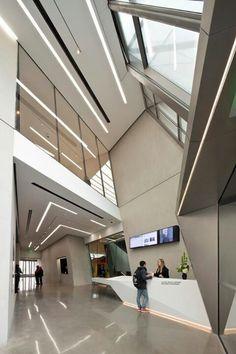 Zaha Hadid lobby