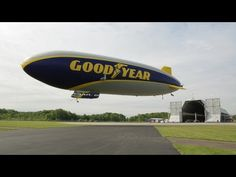 WIRED: Goodyear Blimp Part 1: A New Airship Takes to the Skies