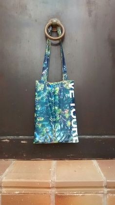 Shopper bag from the back