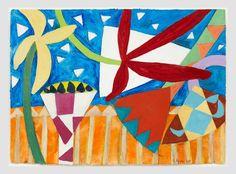 Gillian Ayres Shalimar 2, 2011 Gouache on paper 57.0 x 78.5 cm