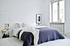 my scandinavian home: A Swedish home with one very cool sofa