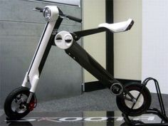 Foldable electric scooter named Skoota is the brainchild of designer Stuart