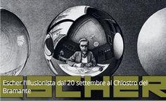 Escher l'Illusionista dal 20 settembre al Chiostro del Bramante