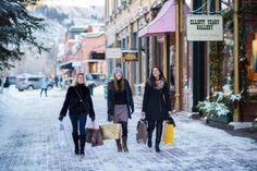 Aspen Snowmass ski holidays USA shopping