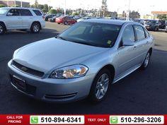 2013 Chevrolet Chevy Impala LT $11,984  miles 510-894-6341 Transmission: Automatic  #Chevrolet #Impala #used #cars #OneToyotaofOakland #Oakland #CA #tapcars