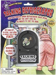 Forum Novelties Talking Refrigerator Gag