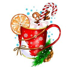 christmas cup and drink illustration art painting art christmas cup drink : Christmas cup and drink illustration art . Christmas Cup, Christmas Pictures, Winter Christmas, Vintage Christmas, Christmas Crafts, Christmas Decorations, Christmas Ornaments, Christmas Sweets, Christmas Quotes