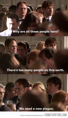 How I feel when I'm trying to cook and everyone keeps walking through the kitchen