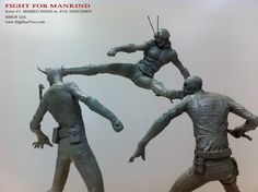 Simon Lee Spiderzero Sculptor Pacific Rim Kaiju Creature Designer Concept Artist…