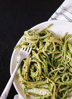 Get your greens and omega-3's with this Kale Pesto. Bonus! Make it in just 5 minutes! |  via Cookie and Kate