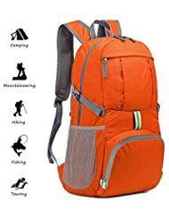 f681404545 Netspower Zaino da Escursione 40L Zaino da Viaggio Leggero e da Trekking  Materiale è Impermeabile per
