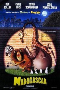 2005 - Madagascar - Spoiled by their upbringing with no idea what wild life is really like, four animals from New York Central Zoo escape, unwittingly assisted by four absconding penguins, and find themselves in Madagascar, among a bunch of merry lemurs. #movies