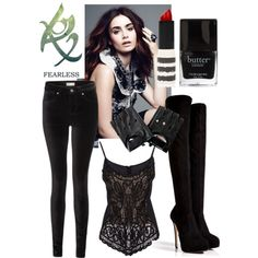 """""""The mortal instruments inspired outfit"""" by chloealexanderuk on Polyvore"""