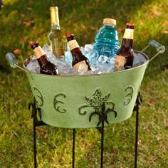 Patina Party Beverage Tub #UltimateTailgate #Fanatics