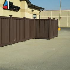 Trex is not just for residential, It can be used for commercial and even government purposes. Trex Fencing, Composite Fencing, Fence, Wood Vinyl, Commercial, Outdoor Decor, Pictures, Photos, Photo Illustration