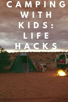 """Do you have camping or """"glamping"""" on your family fun to-do list? Or does taking your kids into the great outdoors makes you a little nervous?"""
