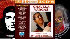 Chavela Vargas y Antonio Bribiesca Voz y sentimiento 1994 Disco completo