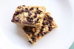 Homemade Chewy Granola Bars (these are really good! I used natural peanut butter and organic coconut oil with great results)