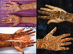 Check Out These Amazing #MehandiDesigns For #KarwaChauth    #Mehandi #Fashion #festive