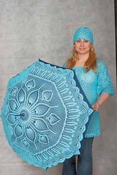 Blue umbrella..so beautiful