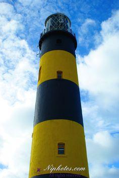 St John's lighthouse, Killough, Downpatrick, County Down, Northern Ireland.