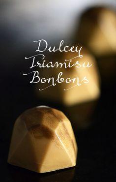 Dulcey Tiramisu Bonbons