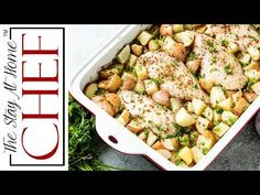Baked Honey Dijon Chicken and Potatoes is an easy weeknight dinner that will leave you wanting to lick the pan clean! It's dinner in one pan!