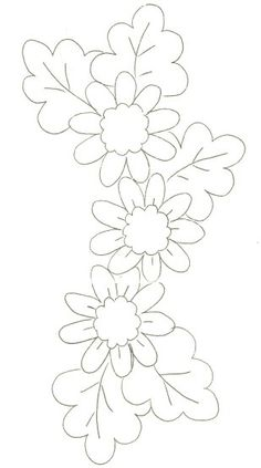 Ideas embroidery patterns flowers stained glass for 2019 - Stickerei Ideen Hand Embroidery Letters, Hand Embroidery Patterns Flowers, Hand Embroidery Videos, Simple Embroidery, Hand Embroidery Stitches, Machine Embroidery Patterns, Hand Embroidery Designs, Flower Patterns, Embroidery Kits