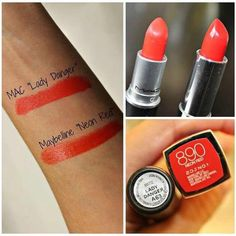 mac lady danger dupe, khadija beauty