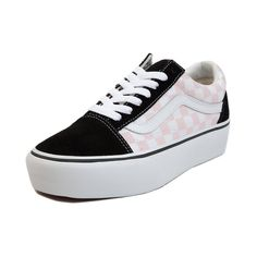vans u authentic platform black