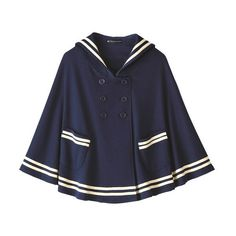 Passing-Fancy.com - Japanese School Sailor Uniforms (Serafuku) ❤ liked on Polyvore featuring outerwear, coats, jackets, clothing - coats, coats & jackets, kawaii, fancy coats, sailor coat and dressy coats
