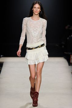 Isabel Marant Fall 2012 Ready-to-Wear Fashion Show - Aymeline Valade (Viva)
