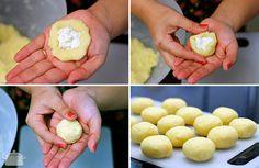 PANELATERAPIA - Blog de Culinária, Gastronomia e Receitas: Nhoque Recheado