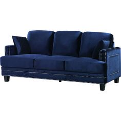 FREE SHIPPING! Shop AllModern for Meridian Furniture USA Ferrara Nailhead Sofa - Great Deals on all  products with the best selection to choose from!