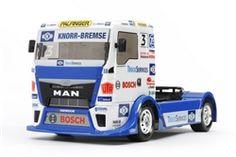 Tamiya 1/14 Team Hahn Racing MAN TGS 4WD On Road TT-01 E