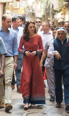 Kate Middleton adds personal touch to her Anita Dongre maxi dress to make it her own - HELLO! US
