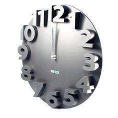 Contemporary Three-dimensional Arabic Numeral DIY Wall Clock