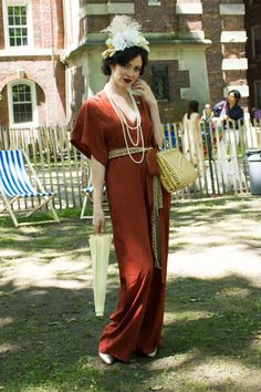 Twenties-Inspired Street Style from the Jazz Age Lawn Party - Fashionista