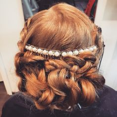 Ginger Hair with Vraid Updo