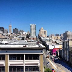 Enjoying the view from the new offices of the Paragon Real Estate Group Commercial and Investment Brokerage. Nice digs.