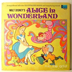 Disney Alice in Wonderland Recored - Front