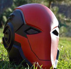 Red+hood+Jason+todd+Batman+arkham+knight+Cosplay+mask