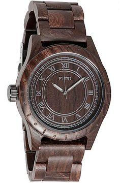 Flud Watches Watch Big Ben Watch in Oak Brown –  Karmaloop.com