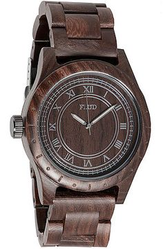 Flud Watches Watch Big Ben Watch in Oak Brown –  Karmaloop.com