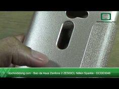 Bao da Asus Zenfone 2 ZE500CL Nillkin Sparkle - Đồ Chơi Di Động .com
