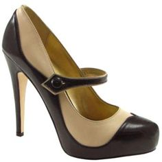 Vintage heels. <3 Totes could pull this off for debate. I have a shirt AND a suit to match!