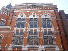 Old Midland Bank Building, 31 Granby Street, Leicester. Joseph Goddard, architect.